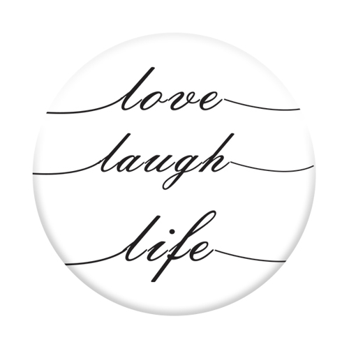 Imagem de Pop Socket - Love, Laugh, Life
