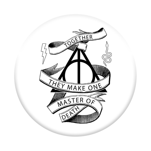 Imagem de Pop Socket - Harry Potter Relíquias da Morte