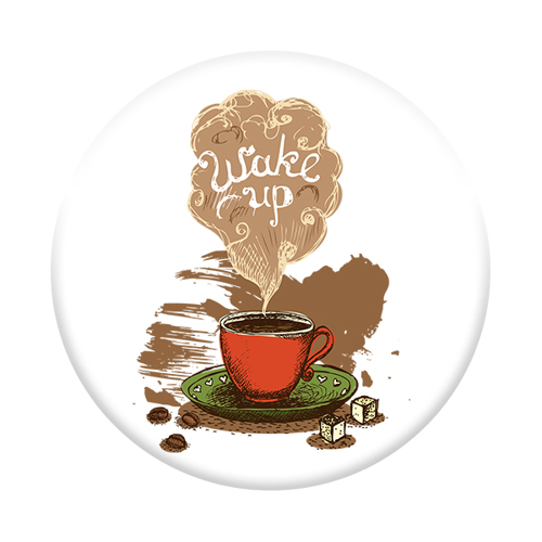 Imagem de Pop Socket - Café - Wake up