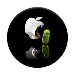 Imagem de Pop Socket - Apple vs Android