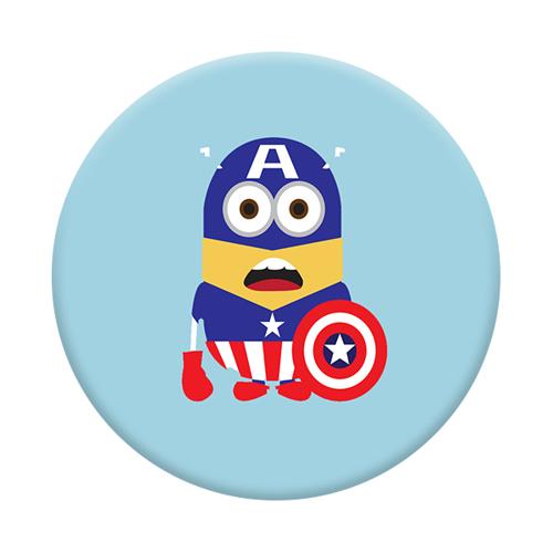 Imagem de Pop Socket - Minions | Capitão América