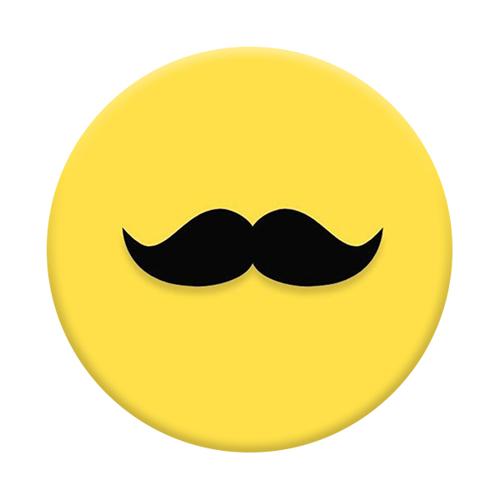 Imagem de Pop Socket - Mustache | Amarelo