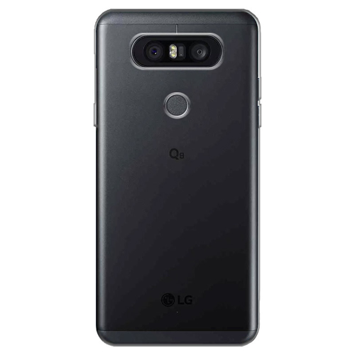 Imagem de Capa para LG Q8 de TPU - Transparente