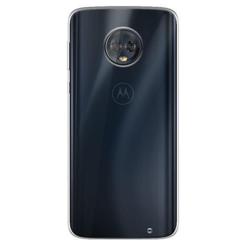 Imagem de Capa para Moto G6 Plus de TPU Casca de Ovo - Transparente