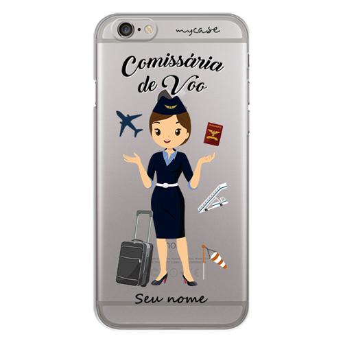 Imagem de Capa para celular - Comissária de Voo