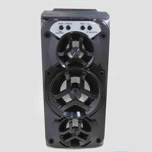 Imagem de Caixa de Som Bluetooth D-BH1079 - Grasep | Preta
