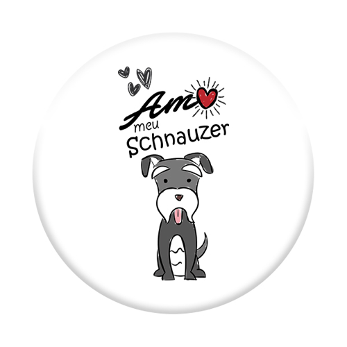 Imagem de Pop Socket - Schnauzer