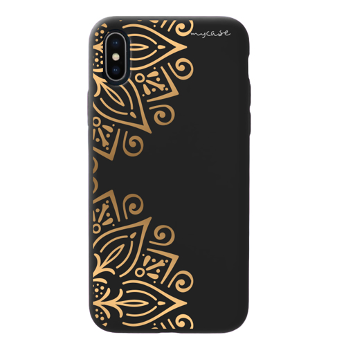Imagem de Capa para celular Black Edition - Mandala Dourada
