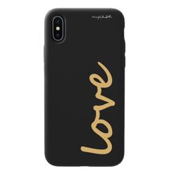 Imagem de Capa para celular Black Edition - Love Gold