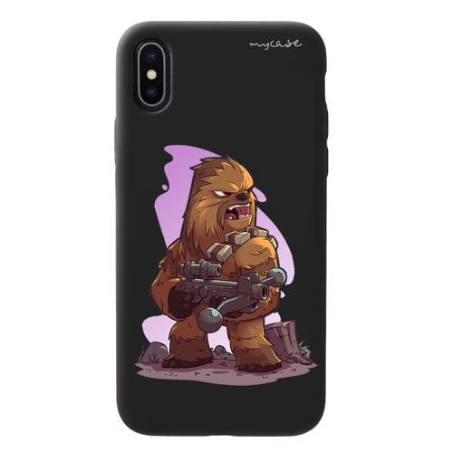 Imagem de Capa para celular Black Edition - Star Wars | Chewbacca