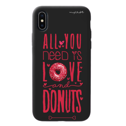 Imagem de Capa para celular Black Edition - All you need is love and donuts