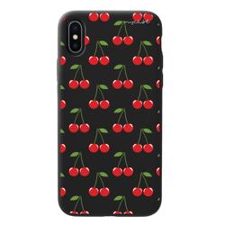 Imagem de Capa para celular Black Edition - Cerejas