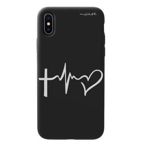 Imagem de Capa para celular Black Edition - Cruz e Coração