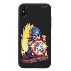 Imagem de Capa para celular Black Edition - Avengers | Capitão América