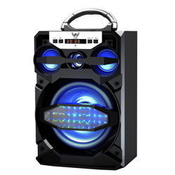 Imagem de Caixa de Som Bluetooth A-81- LTOMEX | Preta