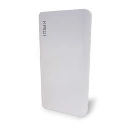 Imagem de Power Bank Bateria Extra Portátil 10.000mah - KD-168 Kaidi | Branco
