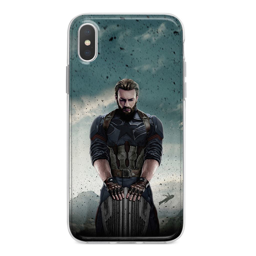 Imagem de Capa para celular - Avengers Infinity War | Capitão América