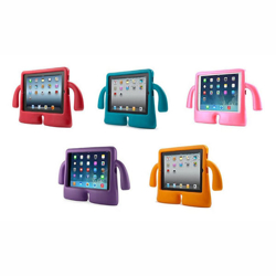 """Imagem de Capa para Tablet 7"""" de Borracha Anti Shock Traseira - Mãozinhas"""