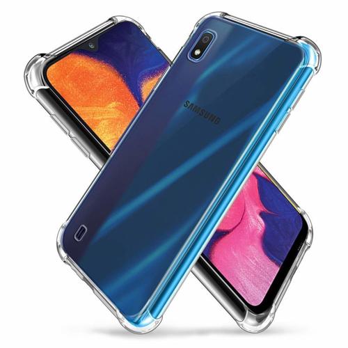 Imagem de Capa para Galaxy A10 de TPU Anti Shock - Transparente