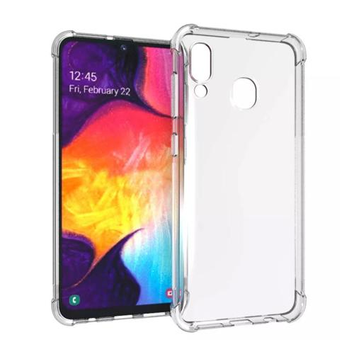 Imagem de Capa para Galaxy A30 de TPU Anti Shock - Transparente