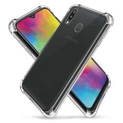 Imagem de Capa para Galaxy M20 de TPU Anti Shock - Transparente