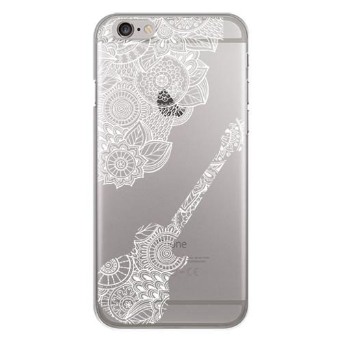 Imagem de Capa para Celular - Violão mosaico para iPhone 7 e 8   Branco