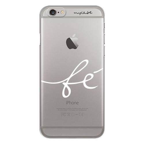 Imagem de Capa para Celular - Fé para iPhone 6 e 6s | Branco