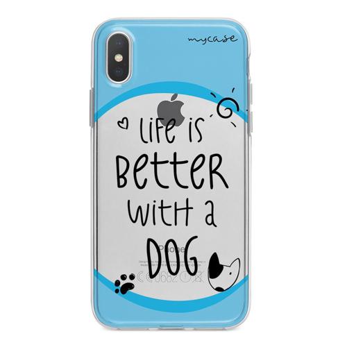 Imagem de Capa para celular - Life is Better With a Dog