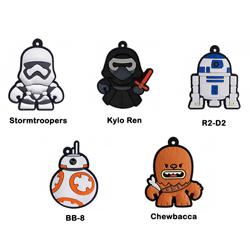 Imagem de Chaveiro Emborrachado - Star Wars | Personagens