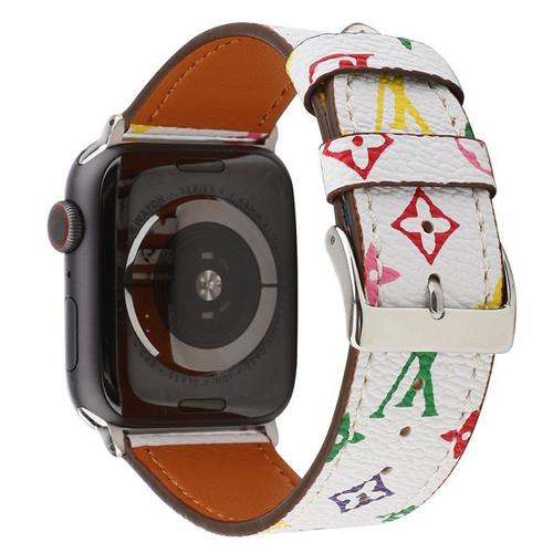 Imagem de Pulseira Louis Vuitton Branca para Apple Watch