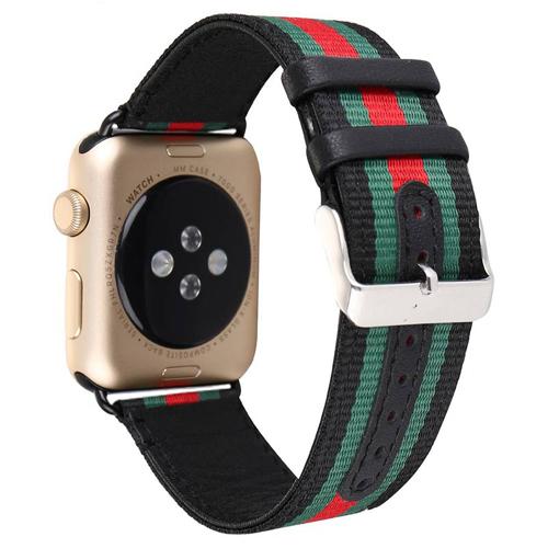 Imagem de Pulseira Nylon Listrada para Apple Watch