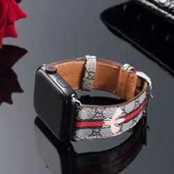 Imagem de Pulseira Gucci com Listra para Apple Watch