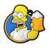 Imagem de Chaveiro Emborrachado - Homer Simpson