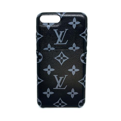 Imagem de Capa Louis Vuitton para iPhone 7 Plus e 8 Plus de Courino com Porta Cartão