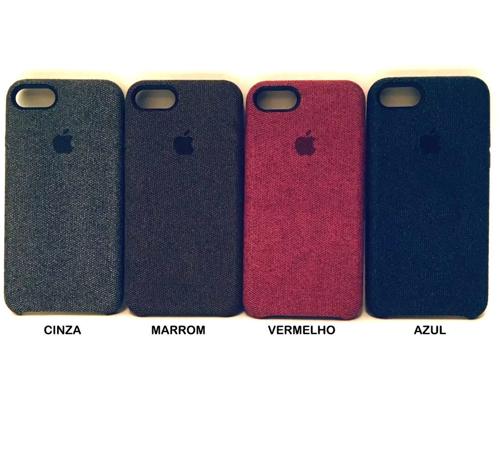 Imagem de Capa para iPhone 6 e 6S Alcântara Jeans