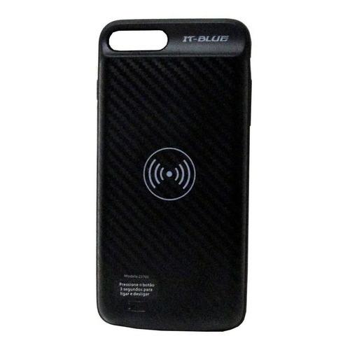 Imagem de Capa Carregadora Para iPhone 7 Plus e iPhone 8 Plus - Preto | It-Blue