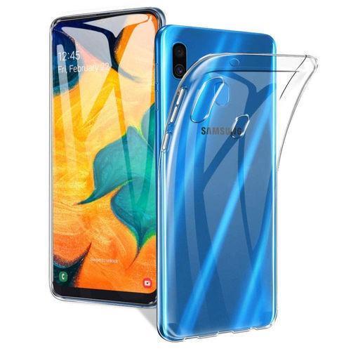 Imagem de Capa para Galaxy M20 de TPU - Transparente
