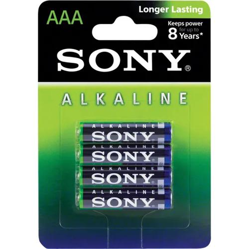 Imagem de Pilha Alcalina AAA 1,5V SONY | Conjunto Com 4 Unidades