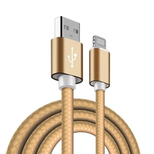 Imagem de Cabo para iPhone e iPad Lightning de corda 2.8A - Hrebos
