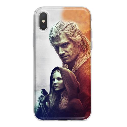 Imagem de Capa para celular - The Witcher   Geralt, Ciri e Yennefer