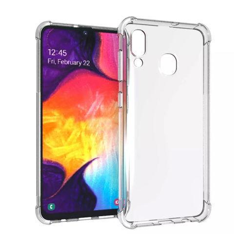 Imagem de Capa para Galaxy A20s de TPU Anti Shock - Transparente