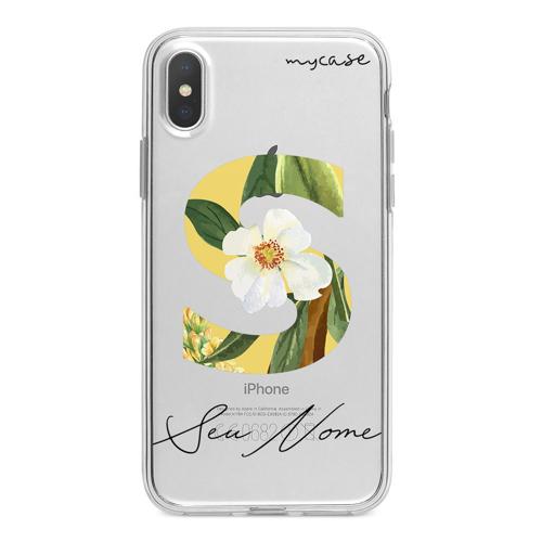 Imagem de Capa para celular - Inicial Floral | Com Nome