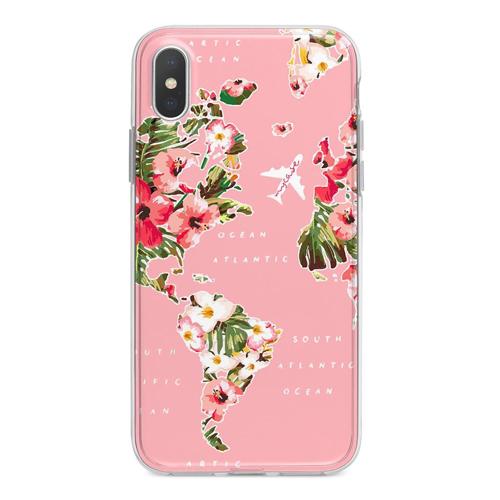 Imagem de Capa para celular - Mapa Floral