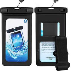Imagem de Bolsa Protetora a prova D'Água com Braçadeira para Smartphone - Diversas Cores