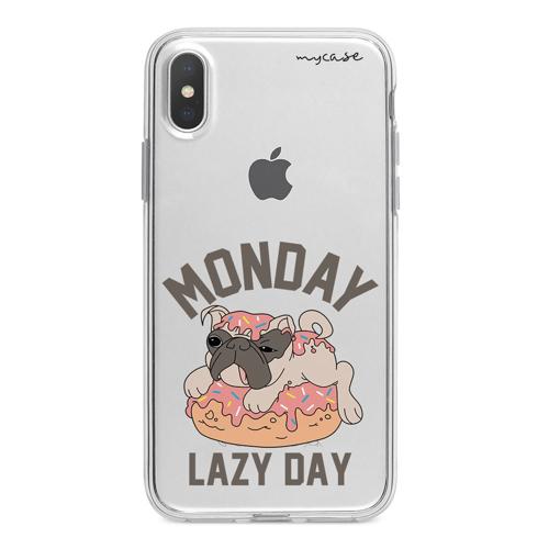 Imagem de Capa para celular - Pug | Monday Lazy Day