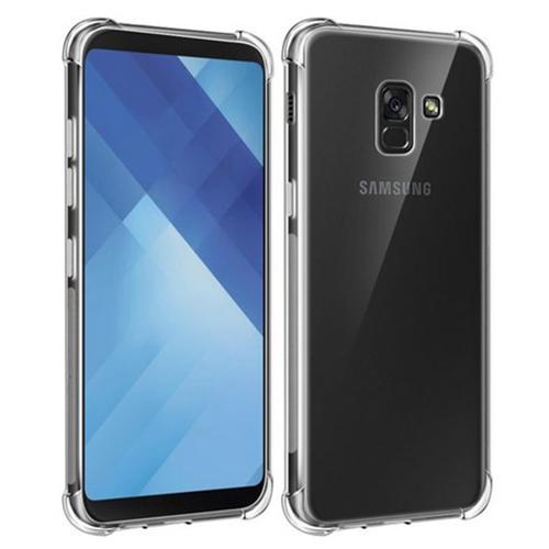 Imagem de Capa para Galaxy A8 2018 de TPU Anti Shock - Transparente