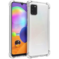 Imagem de Capa para Galaxy A31 de TPU Anti Shock - Transparente