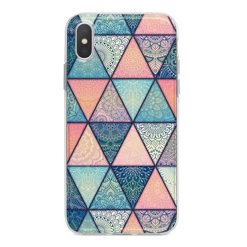 Imagem de Capa para celular - Triângulos | Mandala