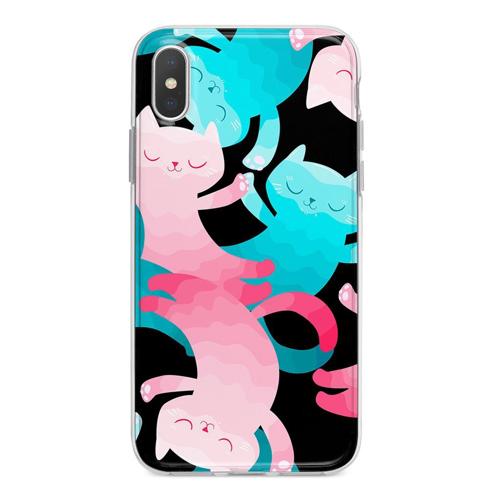 Imagem de Capa para celular - Gatinhos coloridos