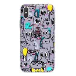 Imagem de Capa para celular - Gatos Cinzas